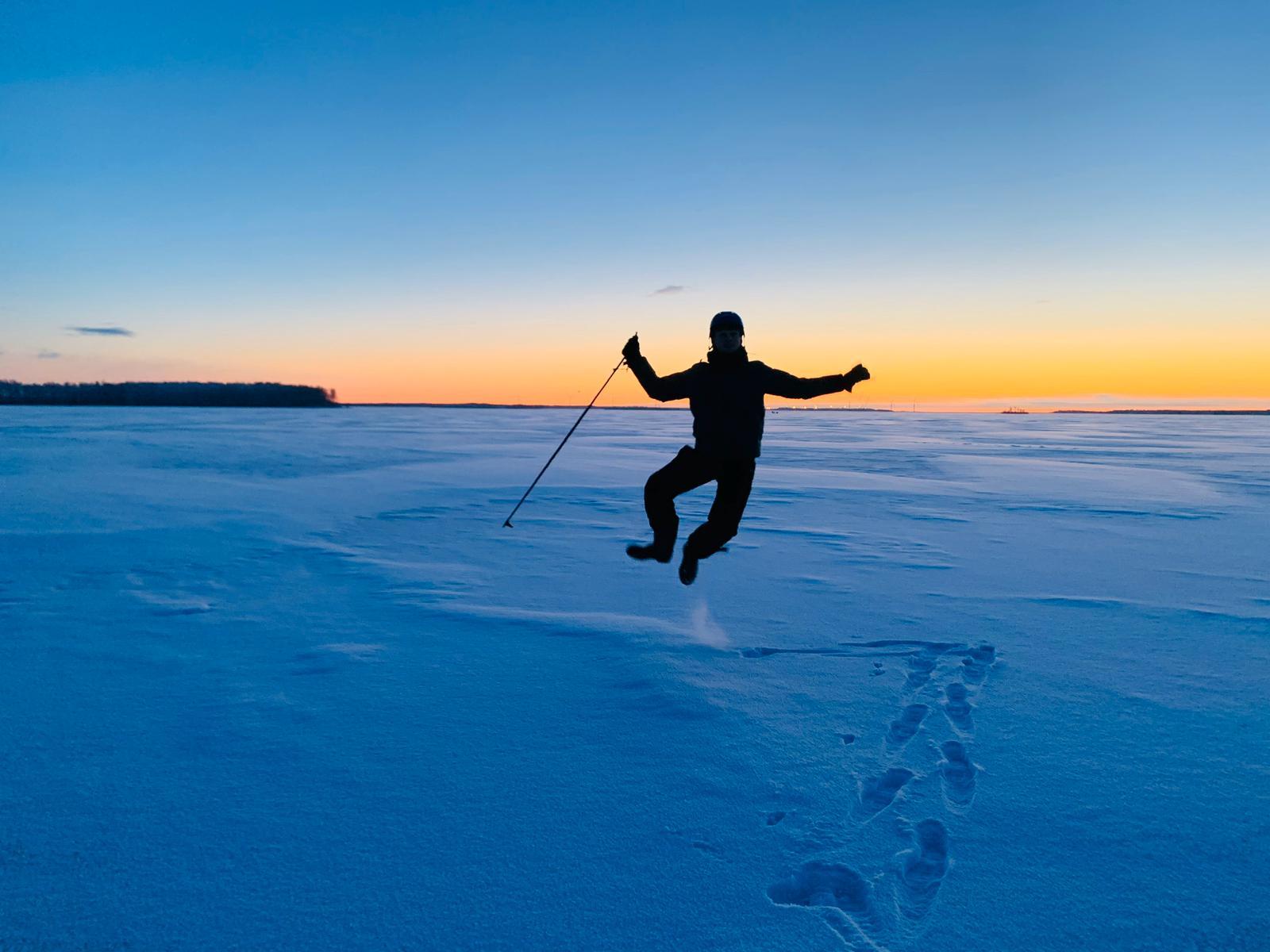 Icetrek in Kemijoki!